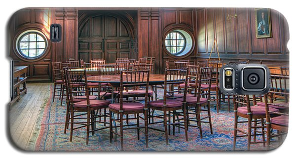 Galaxy S5 Case featuring the photograph Dining Hall Wren Building by Jerry Gammon