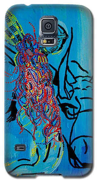 Dinka Groom - South Sudan Galaxy S5 Case