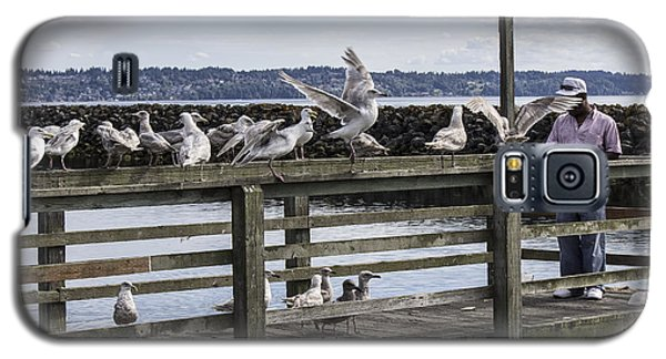 Dinner At The Marina Galaxy S5 Case by Cathy Anderson