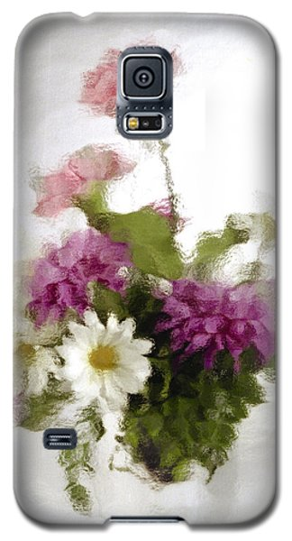 Galaxy S5 Case featuring the photograph Dinner For Two by Penny Lisowski