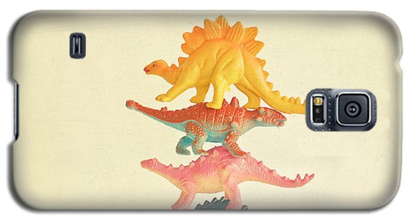 Dinosaur Antics Galaxy S5 Case by Cassia Beck