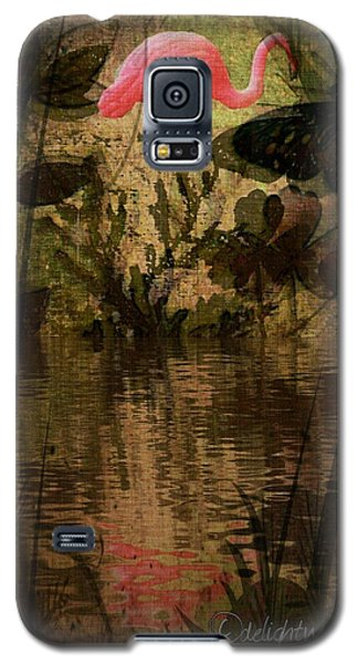 Dinosaurs Among Us Galaxy S5 Case
