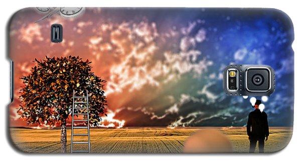Galaxy S5 Case featuring the digital art Diorama by Bruce Rolff