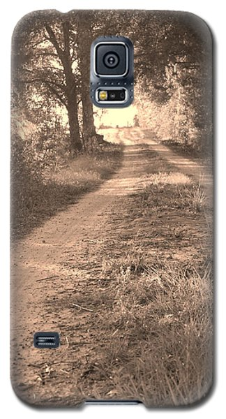 Dirt Road In Moultrie Georgia Galaxy S5 Case
