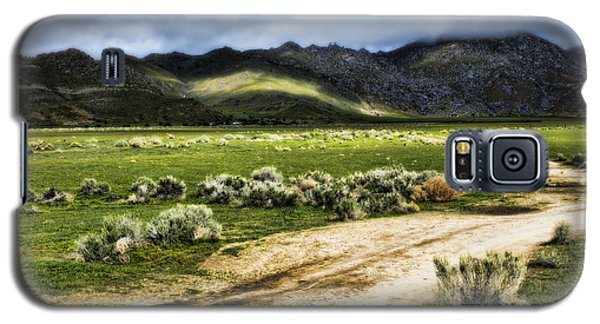 Galaxy S5 Case featuring the photograph Dirt Road Kern County by Hugh Smith