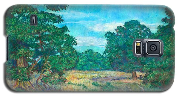 Galaxy S5 Case featuring the painting Dirt Road Near Rock Castle Gorge by Kendall Kessler