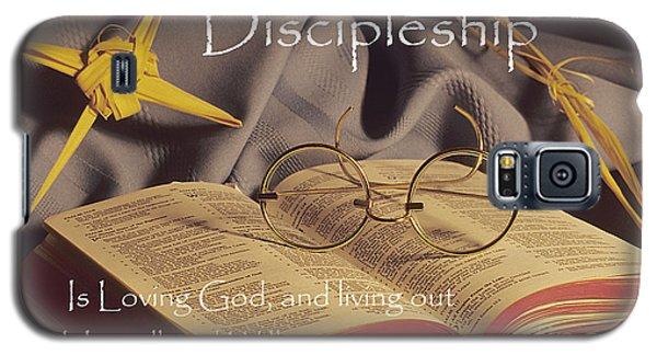 Discipleship Galaxy S5 Case by Sharon Elliott