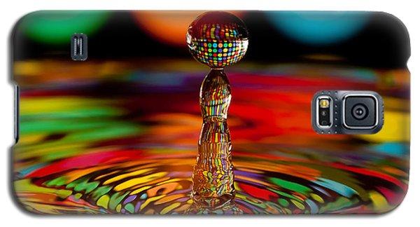 Disco Ball Drop Galaxy S5 Case