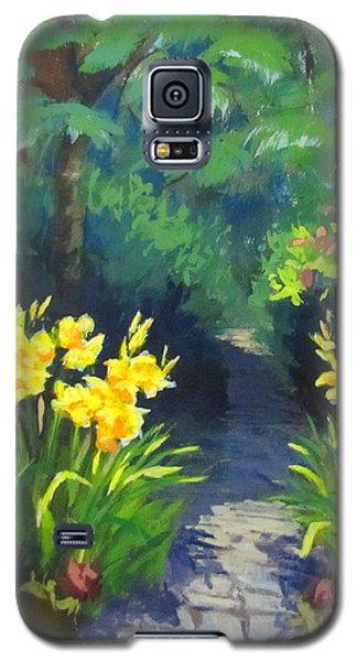 Discovery Garden Galaxy S5 Case by Karen Ilari