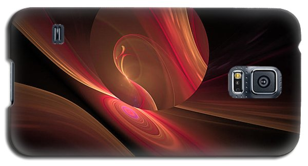 Disk Swirls Galaxy S5 Case by GJ Blackman