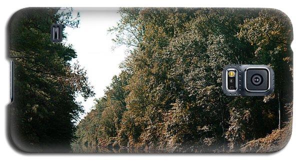 Dismal Swamp Canal Galaxy S5 Case by Rebecca Davis