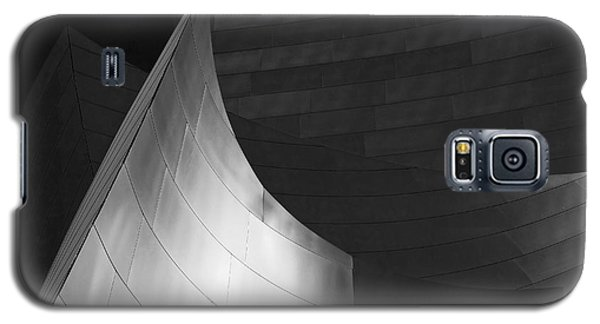 Disney Hall Abstract Black And White Galaxy S5 Case