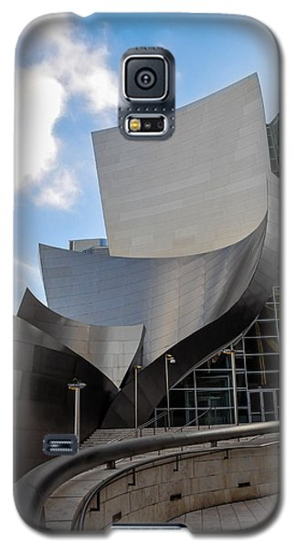 Galaxy S5 Case featuring the photograph Disney Hall by Gandz Photography