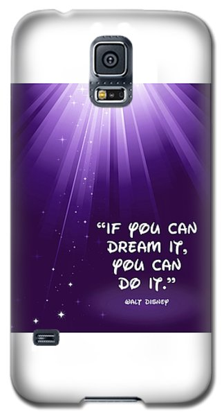 Disney's Dream It Galaxy S5 Case