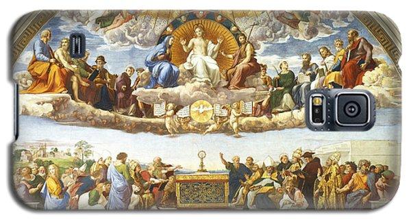 Disputation Of Holy Sacrament. Galaxy S5 Case