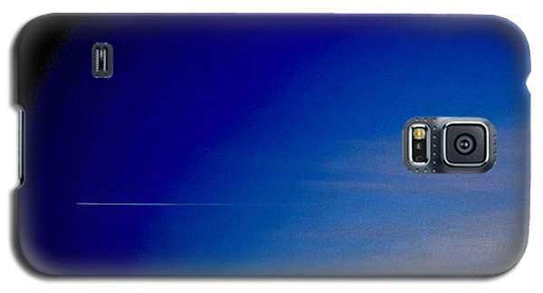 Distant Flight 5  Galaxy S5 Case by Lyle Crump