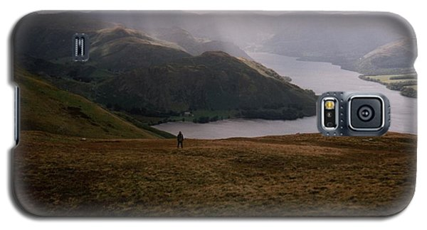 Galaxy S5 Case featuring the photograph Distant Hills Cumbria by John Williams