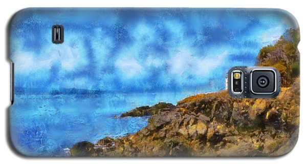 Galaxy S5 Case featuring the digital art Distant Lime Kiln by Kaylee Mason