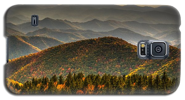 Galaxy S5 Case featuring the photograph Distant Ridges by Serge Skiba