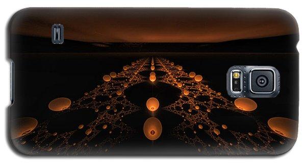 Distant Runway Galaxy S5 Case by GJ Blackman