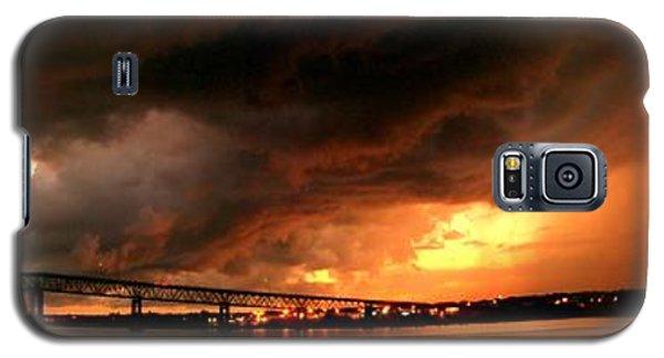 Distant Storm Galaxy S5 Case by Patricia L Davidson