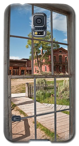 Galaxy S5 Case featuring the photograph Distorted View Of The World by Sue Smith