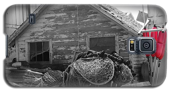 Galaxy S5 Case featuring the photograph Distressed Fishery by Greg Graham