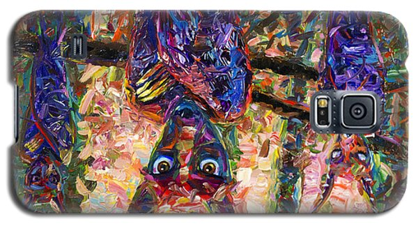 Bat Galaxy S5 Case - Disturbed by James W Johnson
