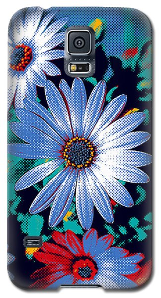 Dithered Daisies Galaxy S5 Case