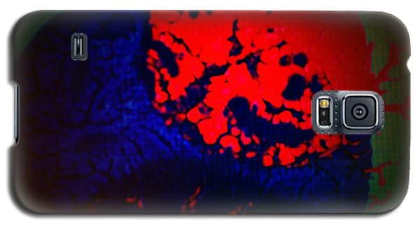 Galaxy S5 Case featuring the painting Divide by Jacqueline McReynolds