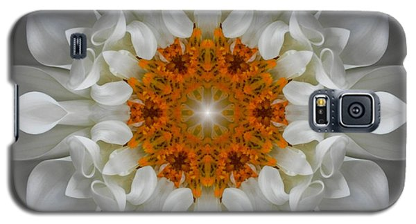 Divine Love Flower Mandala Galaxy S5 Case