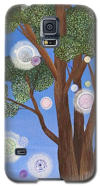 Galaxy S5 Case featuring the painting Divine Possibilities by Cheryl Bailey