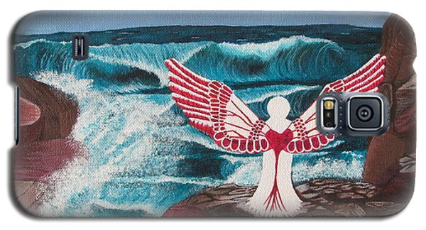 Galaxy S5 Case featuring the painting Divine Power by Cheryl Bailey