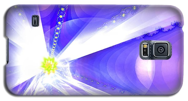 Galaxy S5 Case featuring the digital art Divine Vision by Ute Posegga-Rudel