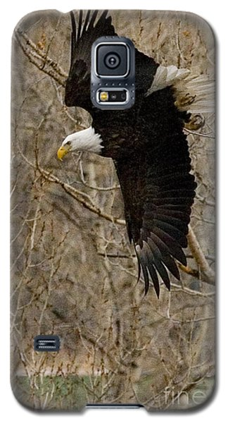 Galaxy S5 Case featuring the photograph Diving Eagle by J L Woody Wooden