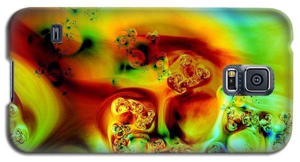 Galaxy S5 Case featuring the digital art Divinorum by Arlene Sundby