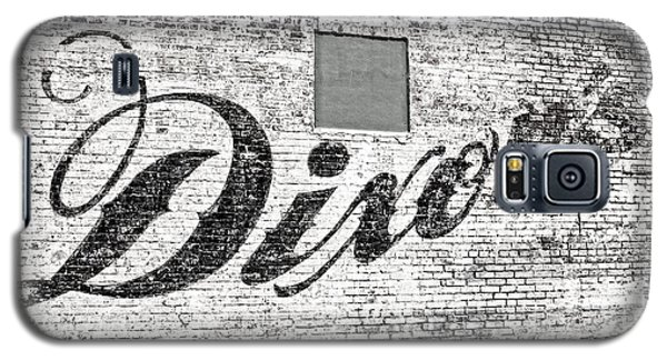 Galaxy S5 Case featuring the photograph Dixon's Wall Sign by Andy Crawford