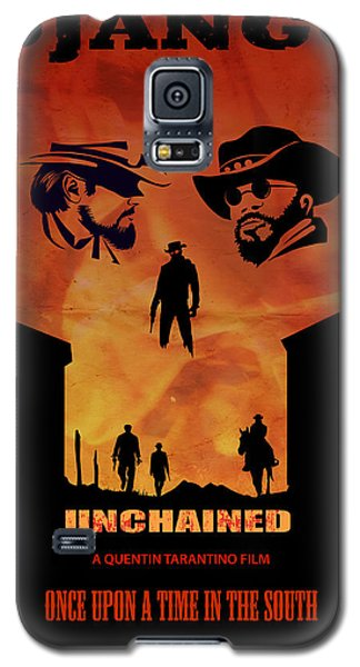 Django Unchained Alternative Poster Galaxy S5 Case by Sassan Filsoof