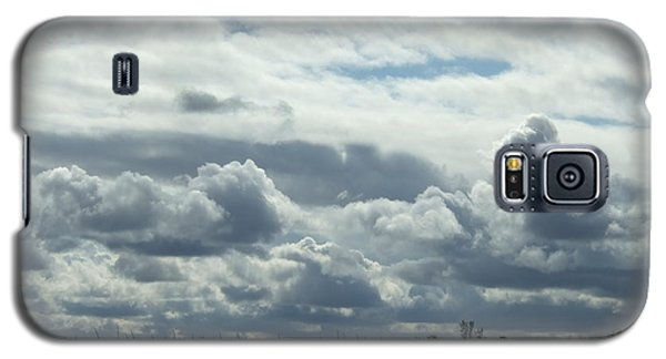 Galaxy S5 Case featuring the photograph Do You See What I See In The Clouds. by Deborah DeLaBarre