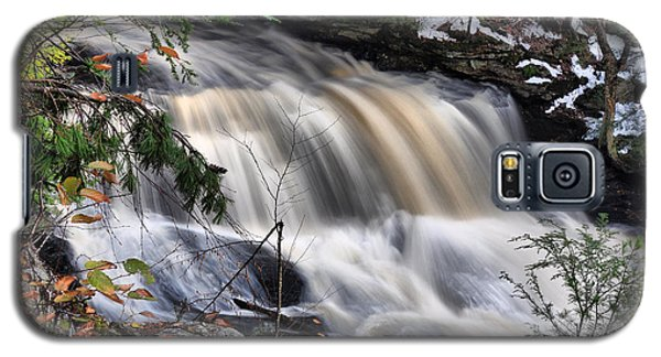 Doane's Lower Falls In Central Mass. Galaxy S5 Case by Mitchell R Grosky