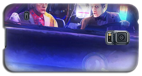 Doc Doctor And The Delorian Galaxy S5 Case