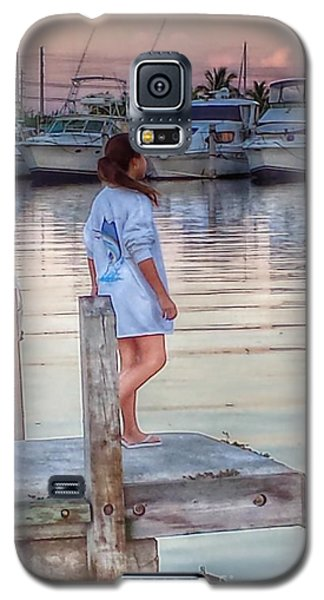 Galaxy S5 Case featuring the photograph Dock Of The Bay by Judy Kay