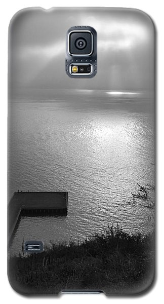Galaxy S5 Case featuring the photograph Dock On San Francisco Bay by Scott Rackers