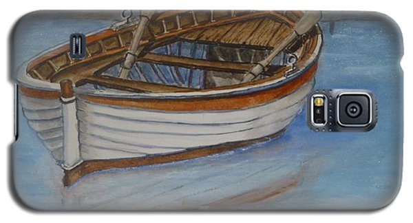 Docked Rowboat Galaxy S5 Case by Kelly Mills