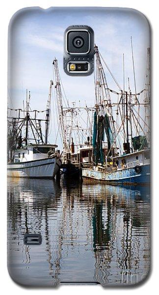 Docked Shrimp Boats Galaxy S5 Case