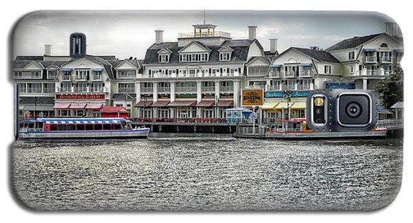 Docking At The Boardwalk Walt Disney World Galaxy S5 Case by Thomas Woolworth