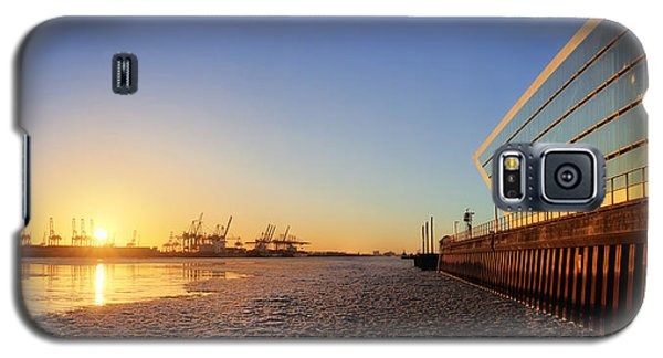 Dockland Sunset Galaxy S5 Case