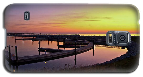 Galaxy S5 Case featuring the photograph Docks At Sunrise by Jonah  Anderson