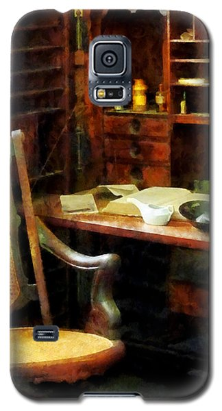 Galaxy S5 Case featuring the photograph Doctor - Doctor's Office by Susan Savad