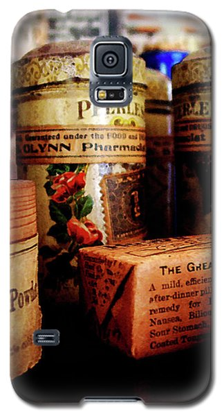 Galaxy S5 Case featuring the photograph Doctor - Liver Pills In General Store by Susan Savad